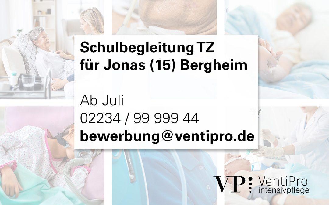 Schulbegleitung für Jonas (15) in Bergheim TZ
