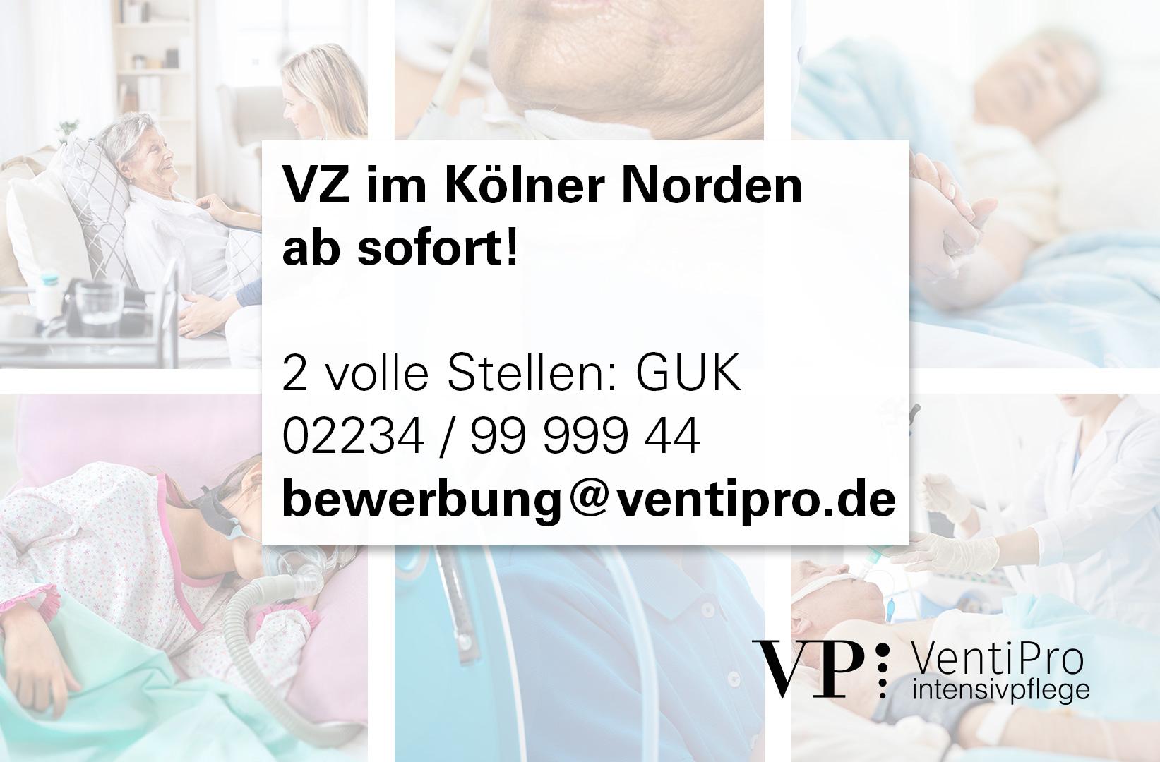 VZ Kölner Norden, Weiler (m|w|d) ab sofort